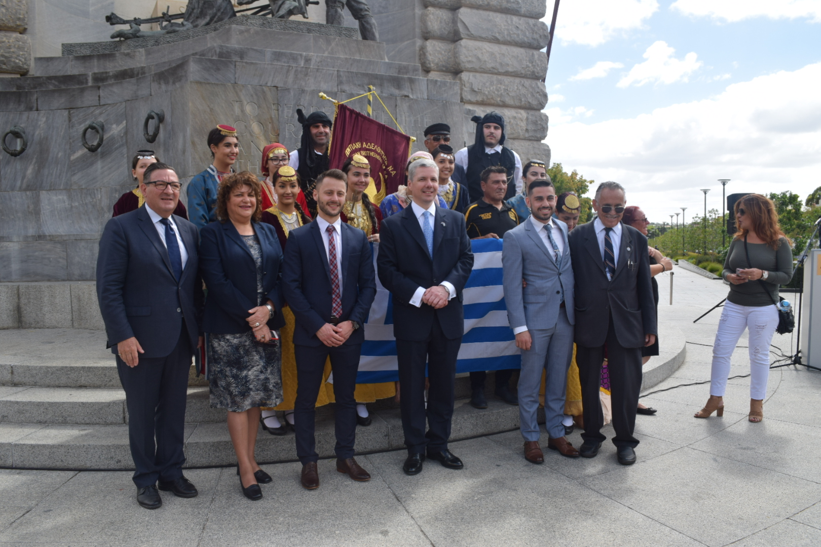 Official State Celebration of the Greek National Day of 25th March