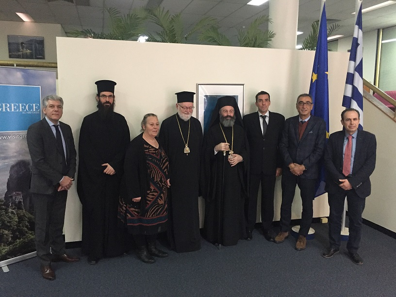 Visit of His Eminence the Archbishop Makarios of Australia