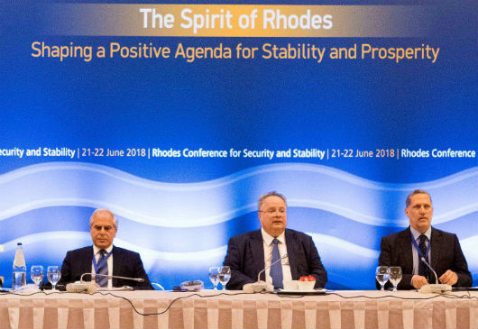 Opening Speech of the Minister of Foreign Affairs, Nikos Kotzias, at the 3rd Rhodes Conference for Security and Stability (Rhodes, 21 June 2018)