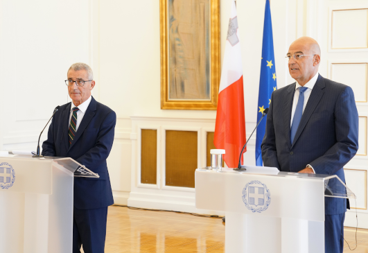 Statements of the Minister of Foreign Affairs, Nikos Dendias, following his meeting with the Minister of Foreign Affairs of Malta, Evarist Bartolo (Athens, 7 September 2020)