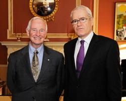 The Ambassador Mr. Eleftherios Anghelopoulos has presented his credentials to the Right Honourable David Johnston, Governor General of Canada