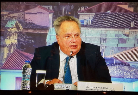 Press Conference of Minister of Foreign Affairs, N. Kotzias, following the proceedings of the 2nd Int'l Conference on Religious and Cultural Pluralism and Peaceful Coexistence in the Middle East (Athens, 30-31 October 2017)