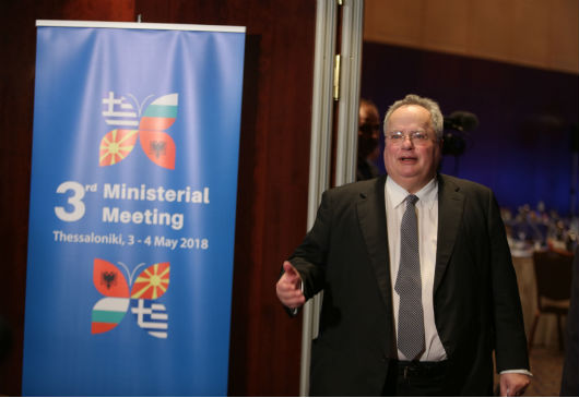 Opening speech of the Minister of Foreign Affairs, Nikos Kotzias, at the 3rd Ministerial Meeting between Greece, Albania, Bulgaria and the former Yugoslav Republic of Macedonia (Thessaloniki, 3-4 May 2018)