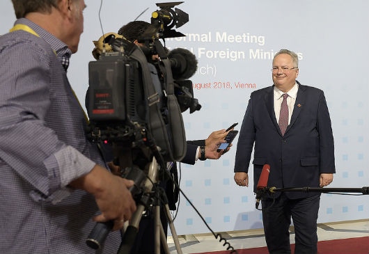 Statement of the Minister of Foreign Affairs, N. Kotzias, following the Informal 'Gymnich' Meeting of EU Ministers of Foreign Affairs (Vienna, 31 August 2018)