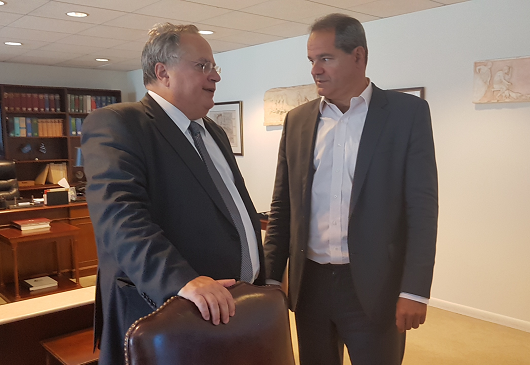Foreign Minister N. Kotzias' interview with Ath. Ellis and Kathimerini daily (Sept. 25, 2016)