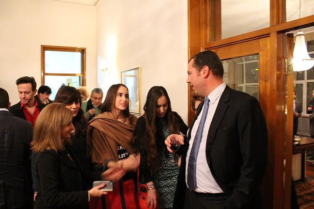 X-mas celebration of the Greek Embassy in Beijing