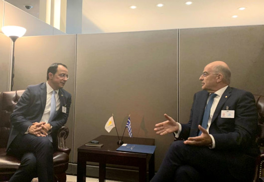Statement of the Minister of Foreign Affairs, Nikos Dendias, following his meeting with the Cypriot Minister of Foreign Affairs, Nikos Christodoulides (New York, 23 September 2019)