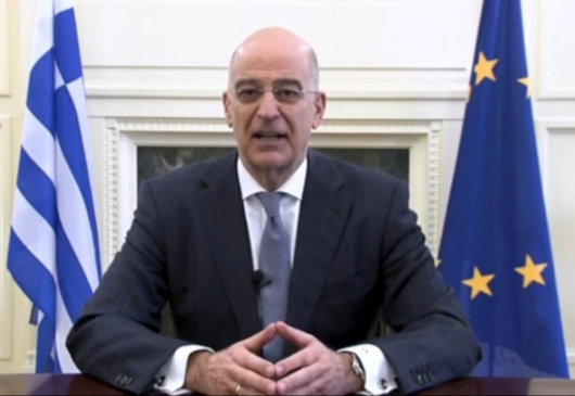 Minister of Foreign Affairs N. Dendias presents the exhibition of the Ministry's Archives for the celebrations of the 200 years since the beginning of the Greek Struggle for Independence
