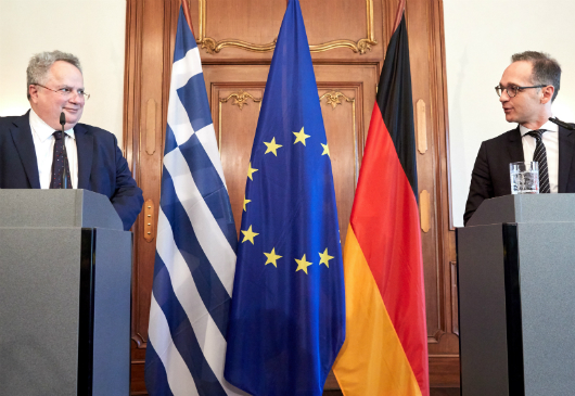 Statements of Minister of Foreign Affairs, Nikos Kotzias, during the press conference with his German counterpart, H. Maas (Berlin, 29 May 2018)