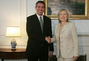 Statements of Foreign Minister Lambrinidis and U.S. Secretary of State Clinton following their meeting