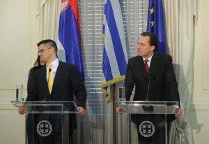 Foreign Minister Droutsas' statements following his meeting with Serbian Foreign Minister Jeremic