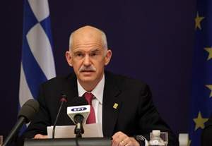 Prime Minister Papandreou participates in European Council meeting