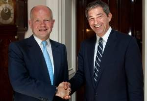 Statements of FM S. Lambrinidis and  UK Foreign Secretary W. Hague following their meeting