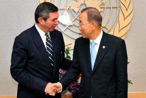 Foreign Minister Lambrinidis' statements following his meeting with UN Secretary General Ban Ki-moon