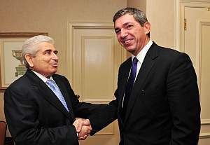 Statements of Foreign Minister Lambrinidis and the President of the Republic of Cyprus, Mr. Christofias, following their meeting at the 66th UN General Assembly (21 September 2011)