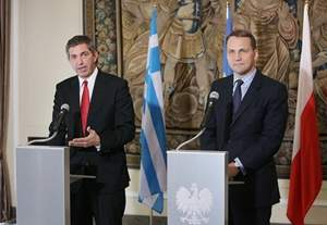 Statements of Foreign Minister Lambrinidis and his Polish counterpart Mr. Sikorski