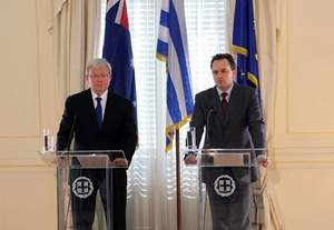 Statements of Foreign Minister Droutsas and his Australian counterpart, Mr. Rudd