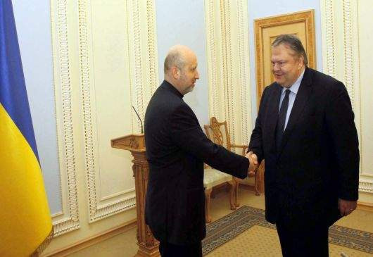 Deputy Prime Minister and Foreign Minister Venizelos' statement following his meeting with the acting President and the Foreign Minister of Ukraine (Kiev, 2 March 2014)