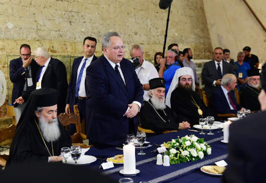 Foreign Minister Kotzias' speech at the dinner he hosted in honor of the Primates and in view of the Holy and Great Council of the Orthodox Church