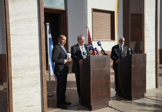 Foreign Minister Nikos Kotzias' statements at his joint press conference with the Foreign Minister of Libya, Mohamed TahaSiala (Tripoli, 28 November 2016)