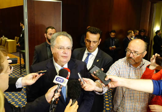 Statements of Foreign Minister Kotzias following the conclusion of the proceedings of the first day of the quadrilateral meeting in Thessaloniki (Hyatt Regency, 21 April 2016)