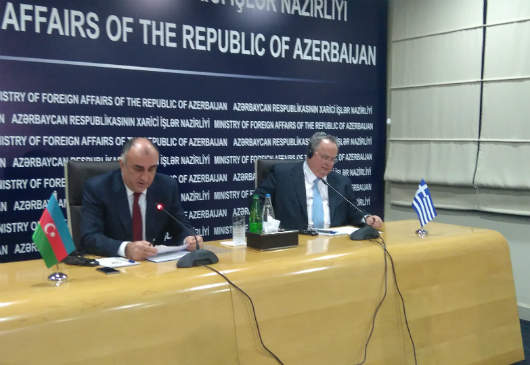 Foreign Minister Kotzias' statements at his joint press conference with the Foreign Minister of Azerbaijan, Elmar Mammadyarov (Baku, 2 February 2016)