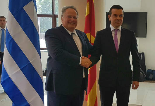 Foreign Minister Kotzias' statements during the joint press conference with the Deputy Prime Minister/Foreign Minister of FYROM, Nikola Poposki, following their meeting (Skopje, 25 August 2016)