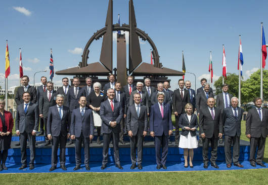 Foreign Minister Kotzias participates in the sessions of the second day of the spring Meeting of NATO Ministers of Foreign Affairs (Brussels, 20 May 2016)