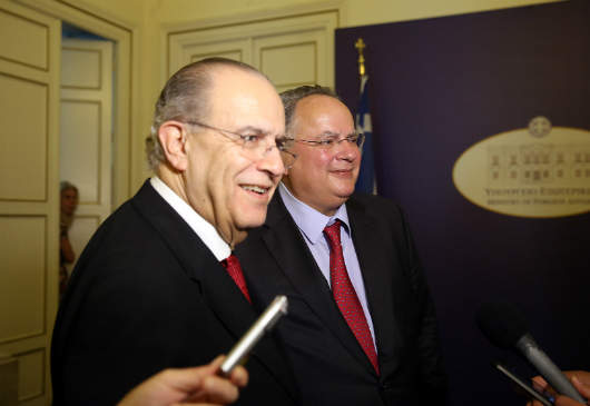 Joint statements of Foreign Minister Kotzias and the Foreign Minister of Cyprus, Ioannis Kasoulides, following the meeting of the National Council on Foreign Policy (Foreign Ministry, 25 May 2016)