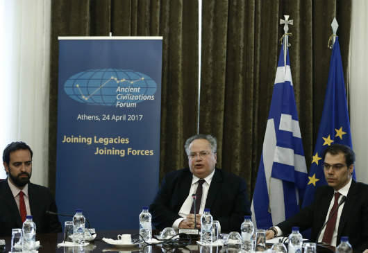 Foreign Minister N. Kotzias statement on the Ancient Civilizations Forum