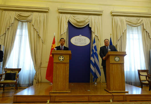 Foreign Minister N. Kotzias statements following his meeting with Chinese Foreign Minister Wang Yi (Foreign Ministry, 23 April 2017)