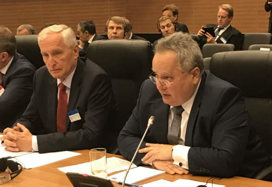 Foreign Minister N. Kotzias΄intervention at the meeting of the Council of Europe's Committee of Ministers (Nicosia, 19 May 2017)