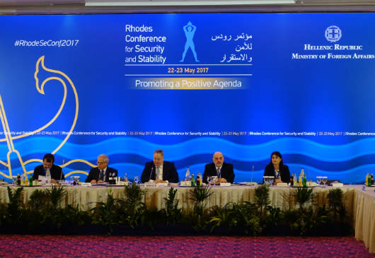 Foreign Minister, N. Kotzias΄ opening speech at the Rhodes Conference for Security and Stability (Rhodes, 22.05.2017)