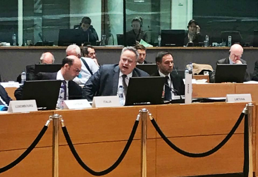 Minister of Foreign Affairs Nikos Kotzias statements to Greek correspondents following today's meeting of the EU Foreign Affairs Council (Brussels, 22/01/2018)