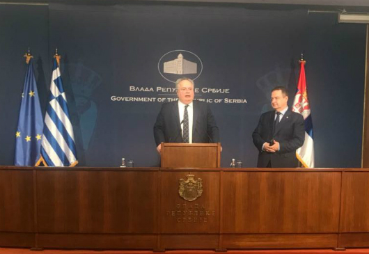 Statements of the Minister of Foreign Affairs, Nikos Kotzias, following his meeting with the Serb Deputy Prime Minister and Minister of Foreign Affairs, Ivica Dačić (Belgrade, 11 April 2018)