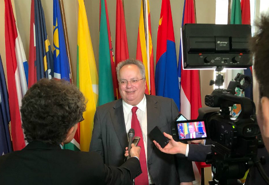 Statement of the Minister of Foreign Affairs, Nikos Kotzias, following his meeting with the UN Secretary-General, Antonio Guterres (New York, 23 May 2018)