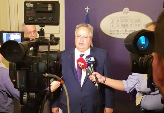 Statements of the Minister of Foreign Affairs, Nikos Kotzias, following the meeting of the National Council on Foreign Policy (Foreign Ministry, 12 September 2018)