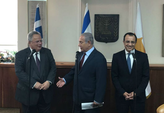 Statement by Minister of Foreign Affairs, N. Kotzias, at the beginning of the trilateral meeting of Greece, Cyprus and Israel (Jerusalem, 13.09.2018)