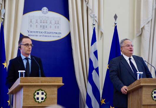 Minister of Foreign Affairs Nikos Kotzias' statements following his meeting with his German counterpart Heiko Maas (MFA, 20/09/2018)