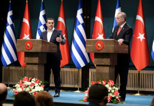 Statements by Prime Minister and Minister of Foreign Affairs Alexis Tsipras during the joint Press Conference with the President of the Republic of Turkey, Recep Tayyip Erdoğan (Ankara, 5 February 2019)