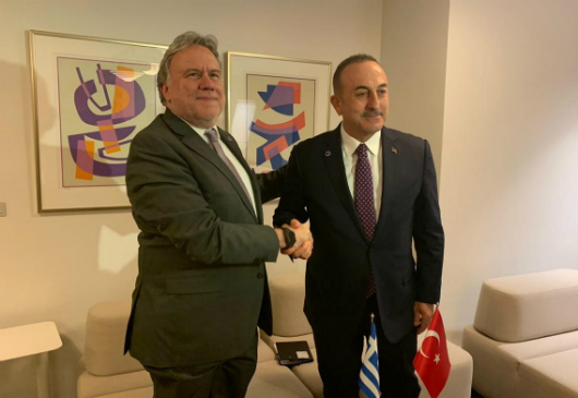 Statements by the Minister for Foreign Affairs, G. Katrougalos, following his meeting with the Turkish Minister of Foreign Affairs, M. Çavuşoğlu (Helsinki, 16 May 2019)