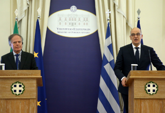 Statement of the Minister of Foreign Affairs, Nikos Dendias, following his meeting with his Italian counterpart, Enzo Moavero Milanesi (Athens, 8 August 2019)
