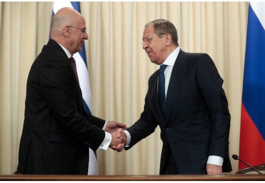 Minister of Foreign Affairs Nikos Dendias' statements following his meeting with the Minister of Foreign Affairs of the Russian Federation, Sergey Lavrov (Moscow, 6 November 2019)