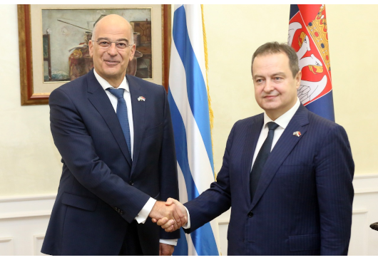 Statement by the Minister of Foreign Affairs, N. Dendias, following his meeting with his Serbian counterpart, Ivica Dacic (Belgrade, 14.11.2019)