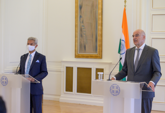 Minister of Foreign Affairs Nikos Dendias' statement following his meeting with the Minister of External Affairs of India, Dr. Subrahmanyam Jaishankar (Athens, 26 June 2021)