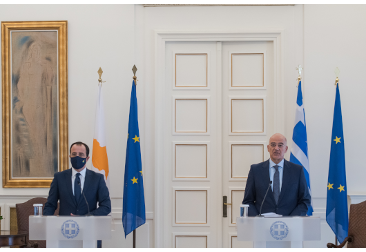 Statement by Minister of Foreign Affairs, Nikos Dendias, following his meeting with the Minister of Foreign Affairs of the Republic of Cyprus (Athens, 04.10.2021)