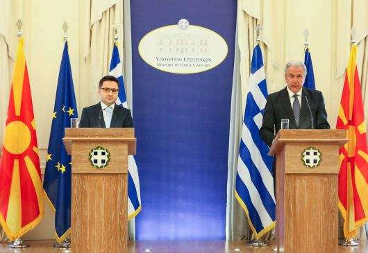 Statements of Foreign Minister Avramopoulos and FYROM Deputy Prime Minister Fatmir Besimi following their meeting (Athens, 8 May 2013)