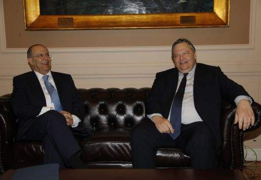 Statements of Deputy Prime Minister and Foreign Minister Venizelos and the Foreign Minister of the Republic of Cyprus, I. Kasoulides, following their meeting
