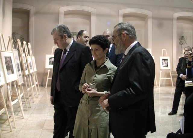 Official opening of the photographic exhibition of Costas Balafas