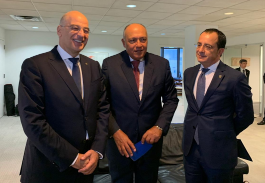 Joint Statement following the Trilateral Meeting of the Ministers for Foreign Affairs of the Republic of Cyprus, the Arab Republic of Egypt and the Hellenic Republic (27 September 2019, New York)